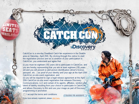 Discovery Channel Hosts CatchCon 2009