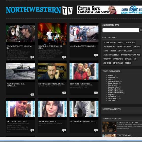 Enter Northwestern TV